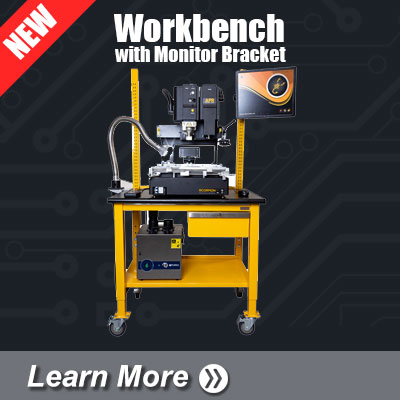 Workbench with Monitor Bracket